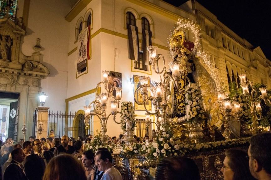 La Oliva en la Procesión de Ntra. Sra. del Carmen del Santo Ángel