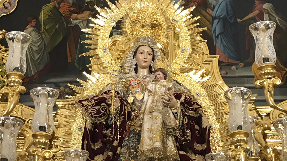 La Oliva en las Fiestas en honor al Corpus Christi en Salteras