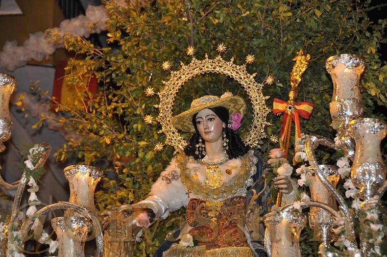 La Oliva en la Procesión de la Divina Pastora de Triana