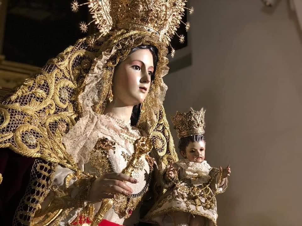 La Oliva de Salteras en la Procesión de Ntra. Sra. del Rosario de Brenes
