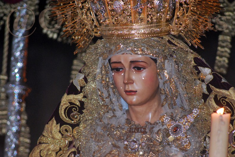 La Oliva en el traslado de M. Stma. de la Soledad