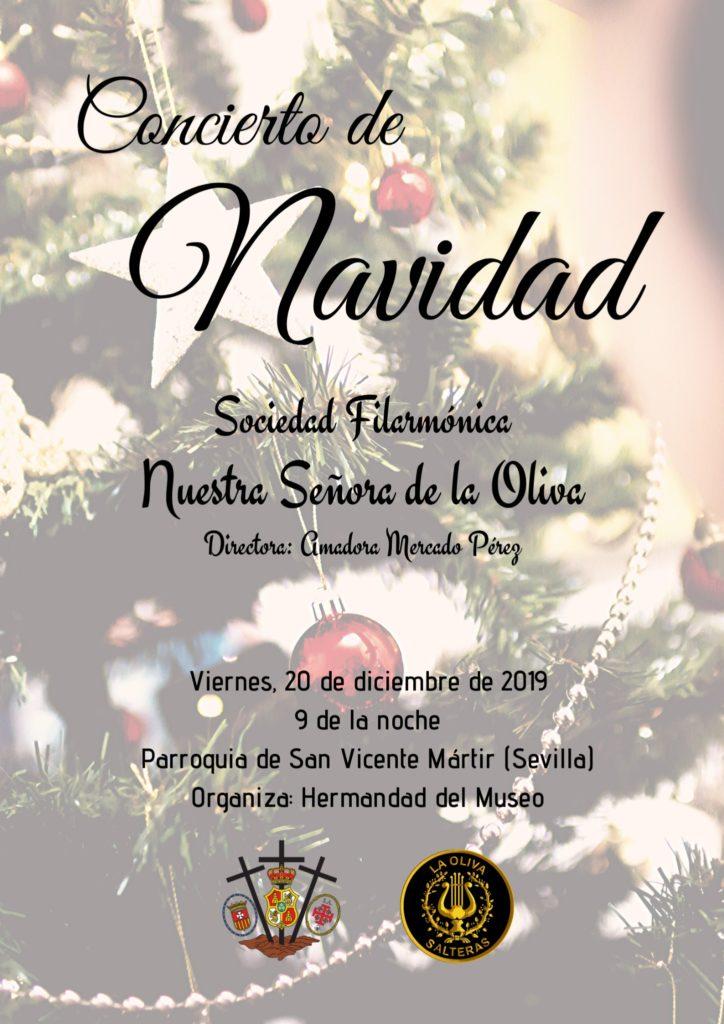 Cartel Concierto Navidad Museo