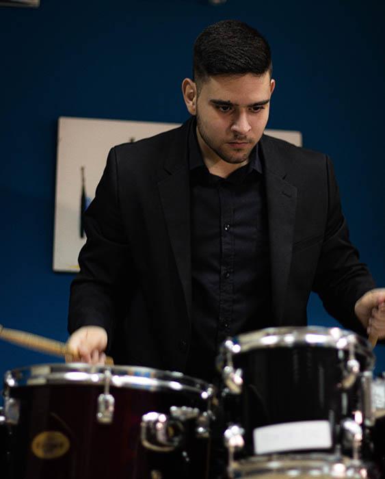 Fco Javier Cortés Profesor Percusión