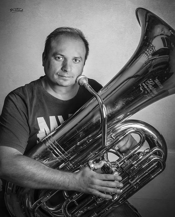 Raúl Benítez Profesor Tuba